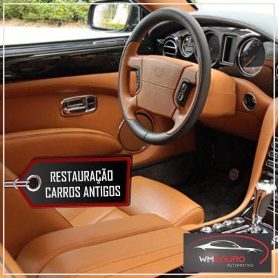 Você sabia que o banco de couro do seu carro pode ser restaurado?